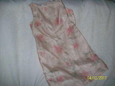 M.H.M. MELISSA HARPER FLOWERED DRESS WOMENS SIZE 12