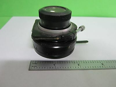 Microscope Part Vickers England Lwd Substage Condenser Optics As Is Bint1-48
