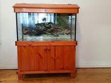 FISH TANK + WOODEN CABINET +ACCESSORIES - EXCELLENT CONDITION !! Hurstville Hurstville Area Preview