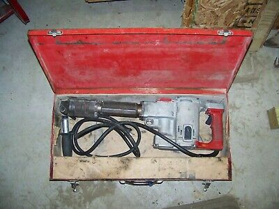 Milwaukee 5332 Demolition Hammerattachments Box Local Pickup Only Warren Oh