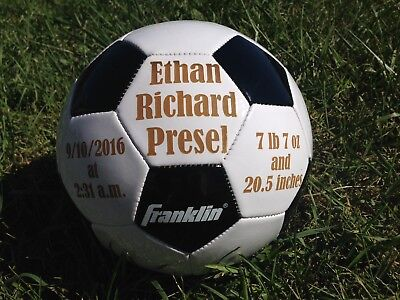 Ring Bearer Gift, Personalized Soccer Ball, Wedding Party Gift, Gift for Boy, Sp - Ring Bearer Gift