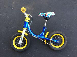 Kids trainer bike no pedals