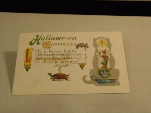 Halloween Happiness Holiday Postcard 3/15/21