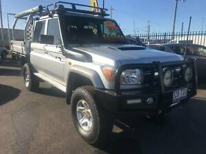 2013 toyota landcruiser gxl vdj79 series dualcab Bundaberg West Bundaberg City Preview