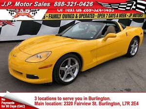 2005 Chevrolet Corvette Automatic, Leather, Only 17,000km