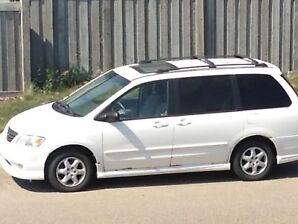 ***TEMP UNAVAIL***2000 Mazda mpv sports edition minivan - $2200