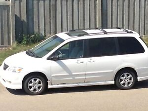 2000 Mazda mpv sports edition minivan - $2200
