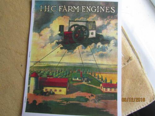International Harverster Farm Engines Titan Gas/Oil Engine Titan Catalog HitMiss