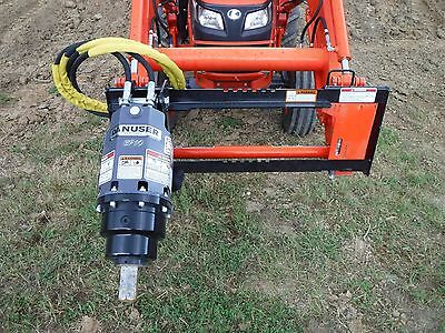 Kubota Tractor Attachment - Danuser Ep 10 Hex Auger Drive Unit - Ship 199