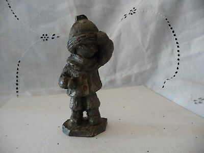 4 PEWTER Figurines Hudson Crab Utexiqual Duck Jackalope