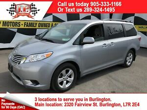 2017 Toyota Sienna LE, 3rd Row Seating, Power Sliding Doors,