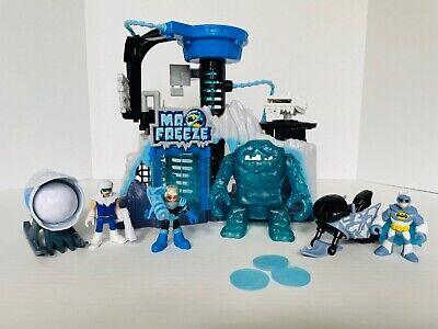 Batman Imaginext DC Super Friends Mr. Freeze Arctic Fortress Headquarters