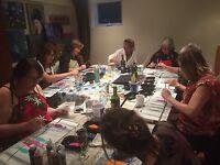 Cours de peinture et soirée peinture apéro