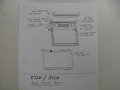 76-0256-3  Door Opening Trim For Ice Bin Model B320 Or B420  7602563