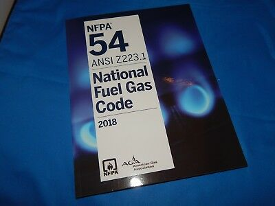 Nfpa 54 Ansi Z223 1 National Fuel Gas Code Soft Cover  2018 Edition
