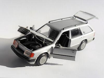 Mercedes-Benz E-Class S124 300TE Estate T Model Black 1984-1997 1//43 Minich