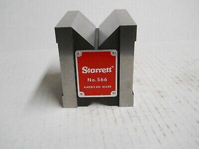 Starrett 566 Dual-v Magnetic V-block  Slightly Used