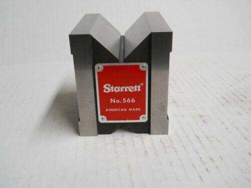 Starrett #566 Dual-V  Magnetic V-Block    slightly used