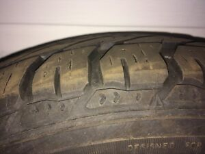 Winter tires - lightly used