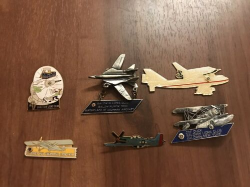 Lions Club Pins -  SPACE Aviation Barstow Baldwin District 4l6 ( Lot of 6 ) READ