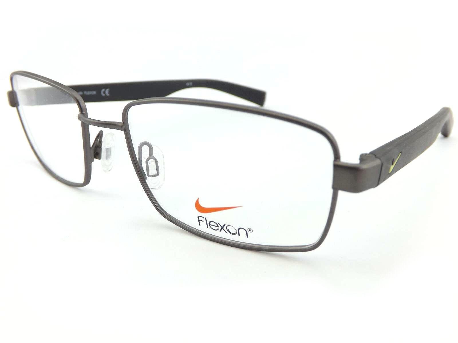 NIKE FLEXON +0.25 to +3.50 52mm Reading Glasses Gunmetal / Black ...