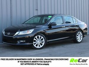 2013 Honda Accord Touring HEATED LEATHER | NAV | BACK UP CAM...