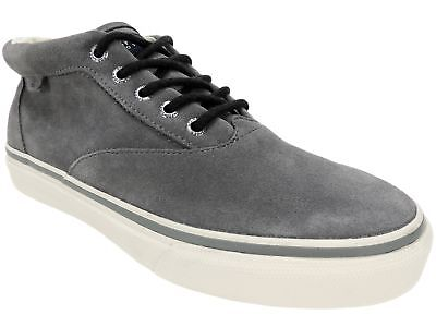 Sperry Top-Sider Men's Striper CVO Chukka Boots Grey Suede Size 8.5 - Striper Boots