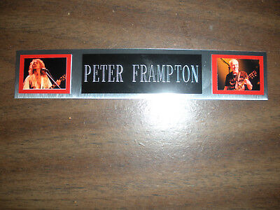 PETER FRAMPTON NAMEPLATE FOR SIGNED PHOTO/RECORD/ALBUM