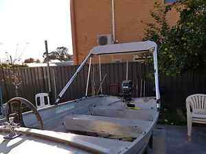 Boat and trailer and mariner 8hp Devon Park Port Adelaide Area Preview