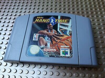 Nintendo 64 Spiel Modul NBA HANG TIME N64 Basketball 51