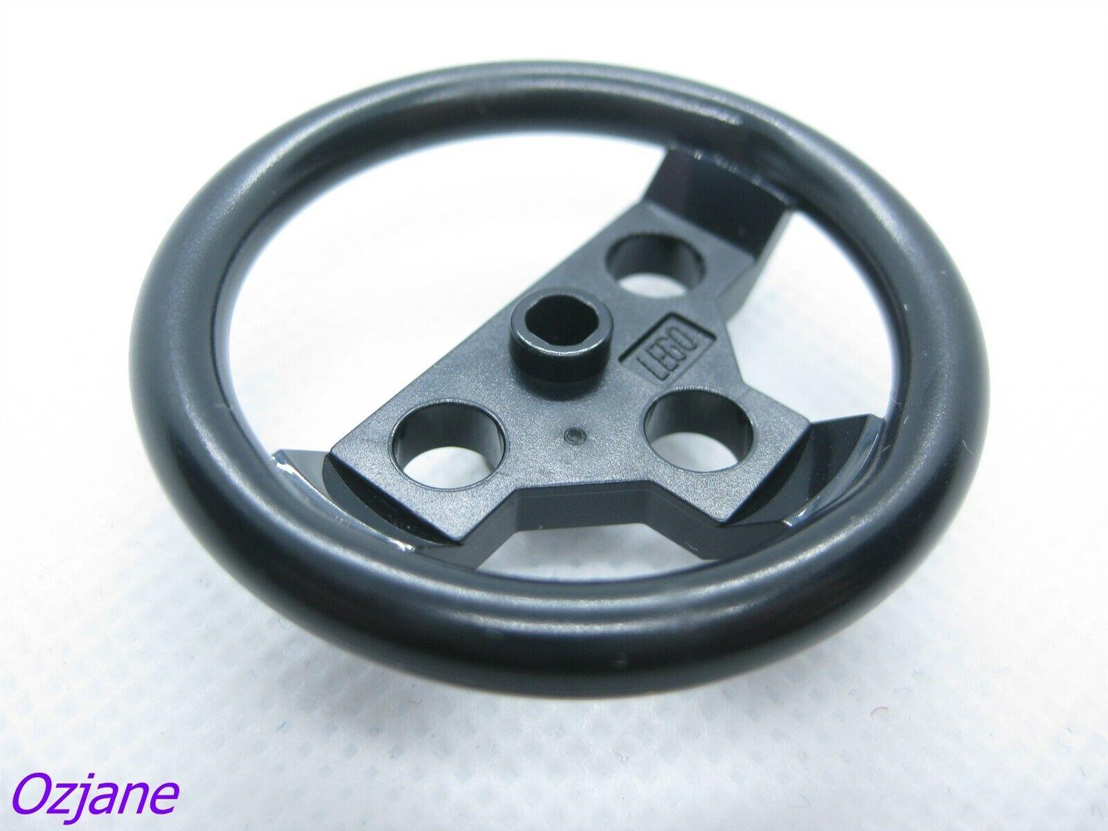 Technic Lego Large Steering Wheel in Black part no 2741