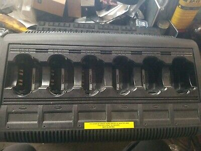 Motorola Impres 6 Unit Adaptive Charger Model Wpln4121br