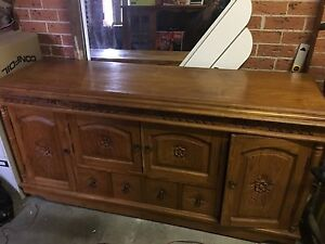 Bali Teak Cabinet South Windsor Hawkesbury Area Preview