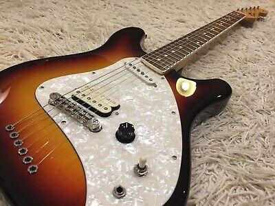 Rare Fender Squier Vista Series Venus in Sunburst. Unique Late 90's Design.