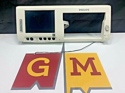 Philips Fm50 Fetal Monitor M2705-64101 Front Bezel With Touch Screen Lcd
