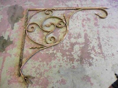Alter Vordach Ausleger B 137 cm Eisen Konsole I