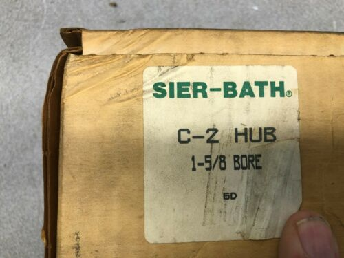NEW IN BOX SIER-BATH 1-5/8 BORE HUB C-2