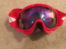 Red snow goggles Turner North Canberra Preview