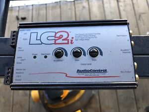 Audio Control LC2i Processor - Add Amplifier to factory stereo