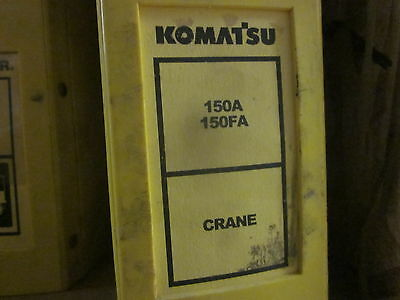 Komatsu 150a 150fa Crane Repair Shop Manual
