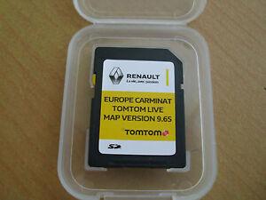 Renault SD Karte 2016 Europa  für Gps  Carminat Tomtom live oder R-Link