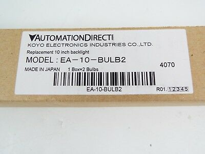 Automation Direct Ea-10-bulb2 Bulbs Replace Package Of 2 For Use 10-in C-more