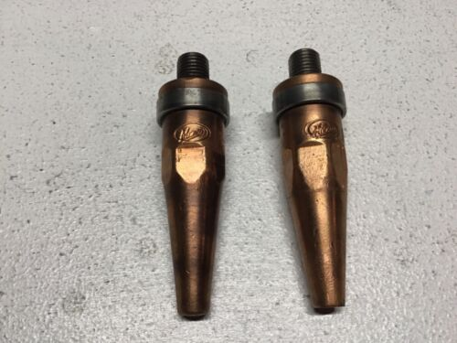 Vintage Meco Torch Cutting Tip L-1 & L-2 Style A - USA!