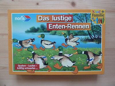 DAS LUSTIGE ENTEN-RENNEN - süßes Merk- u. Würfelspiel für die ganze Familie! (Lustige Spiele Für Die Familie)