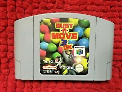BUST-A-MOVE 3 DX***OFFICIAL N64 CARTRIDGE ONLY***PAL VERSION