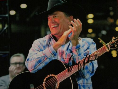 George Strait American Singer Rare Excellent Photo Signed WCoa - $20.00