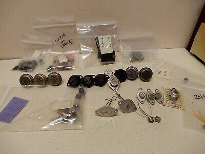 Huge Lot Vintage Transistors 7920 Tip31 2n3669 2n441 2n155 2n255 2n174 2n930