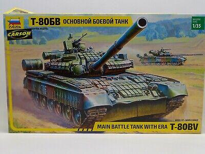 ZVEZDA 3592 Bausatz Sowjetischer KPz T-80BV M.1:35