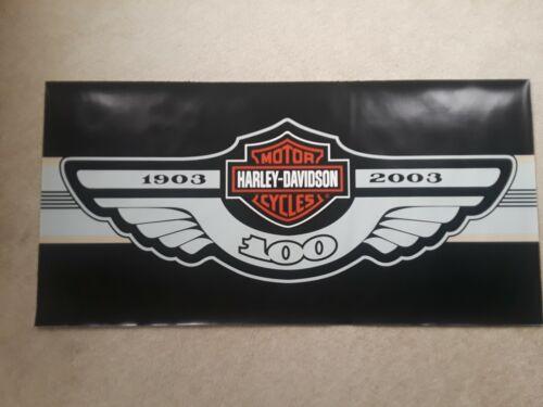 Harley Davidson 2003 (100 years) Anniversary Vinyl Poster