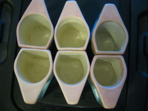 Vintage Rodolfo Padilla Drip Glaze Mugs Coffee Cups  RARE color